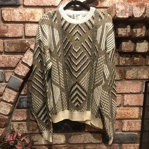 LONDON FOG wool blend pullover sweater